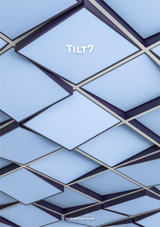 Architected Sound Tilt7 ceiling frame - Thumbnail cover of brochure