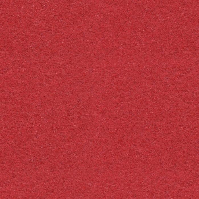 Próbka koloru filcu dekoracyjnego EcoFelt w kolorze czerwonym o symbolu AF-01