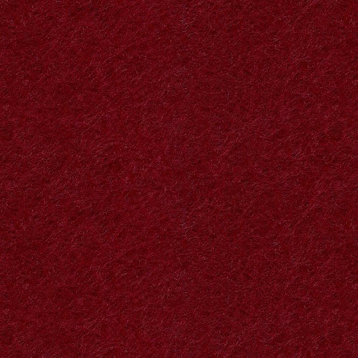 Próbka koloru filcu dekoracyjnego EcoFelt w kolorze bordowym o symbolu AF-04