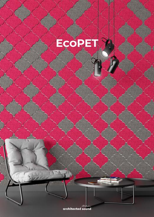 Miniaturka okładki broszury panelu akustycznego EcoPET
