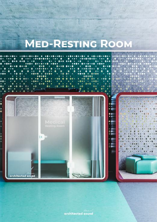 Miniatura okładki broszury medycznej budki akustycznej Med-Resting Room