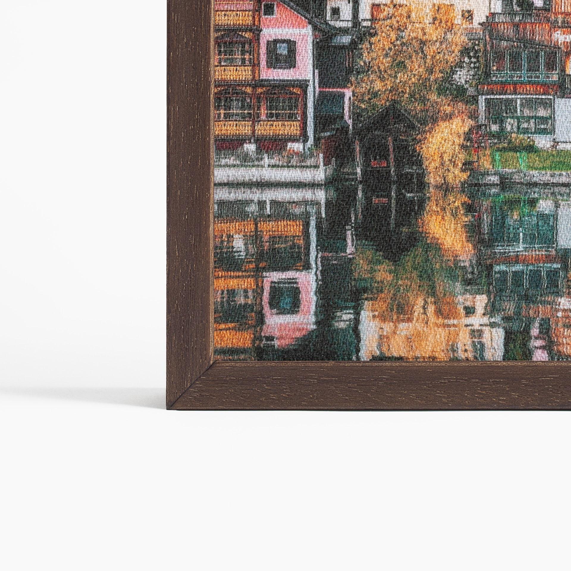Obraz akustyczny z powierzchnią nadruku typu Canvas Prem