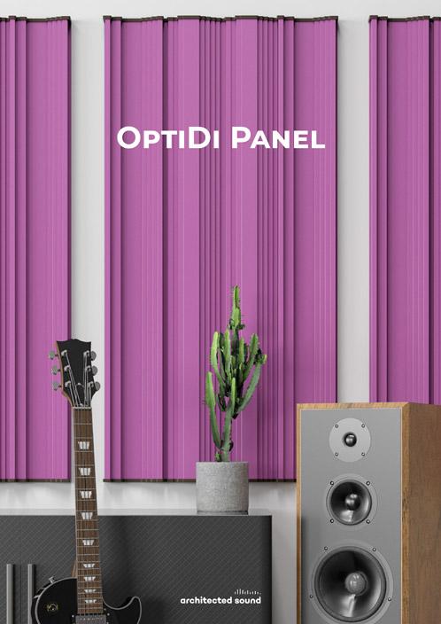 Miniatura okładki broszury panelu akustycznego OptiDi Panel