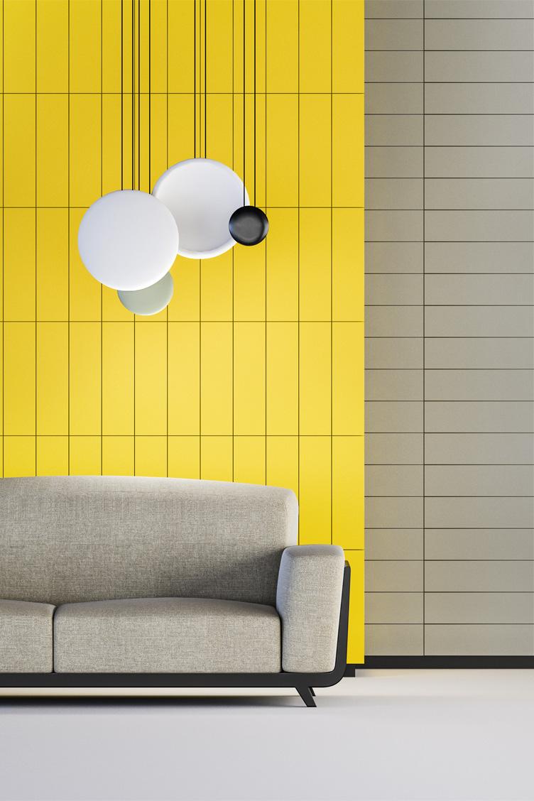 Wizualizacja adaptacji domowej sali odsłuchowej z wykorzystaniem panelu akustycznego SlotBar