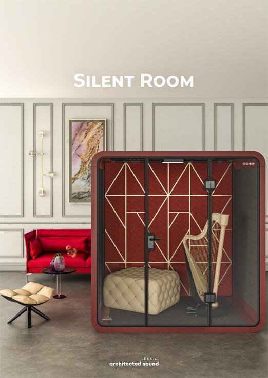 Miniatura okładki broszury budki akustycznej Silent Room