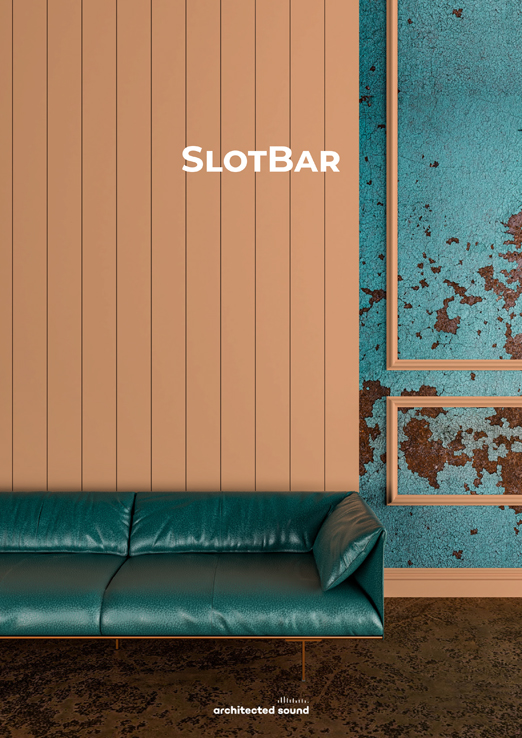 Thumbnail cover of brochure of SlotBar acoustic panel