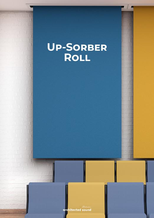 Miniatura okładki broszury baneru akustycznego Up-Sorber Roll