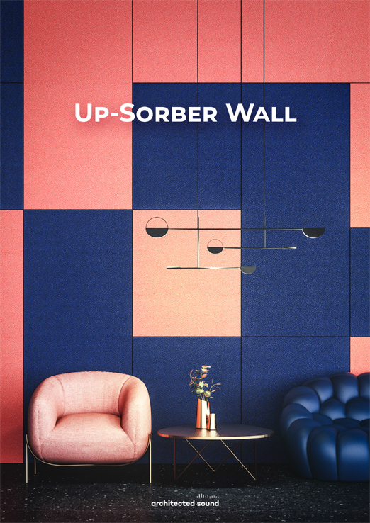 Architected Sound sound absorbing system Up-Sorber Wall - Thumbnail cover of brochure