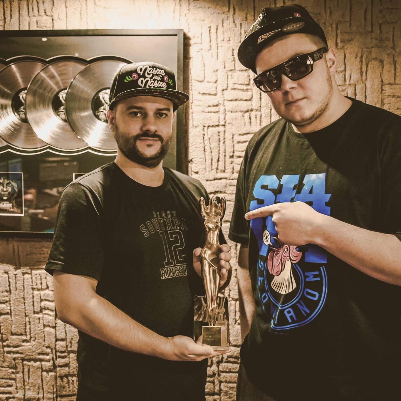 Donatan i Jarosław JARO Baran w studio nagraniowym Architected Sound