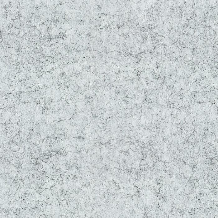 Próbka koloru panelu dekoracyjnego dźwiękochłonnego EcoPET w kolorze jasnoszary melanż o symbolu AP-10 Silvery Grey