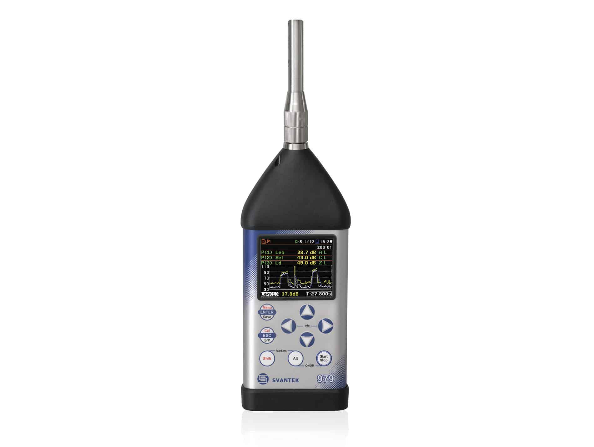 Svantek miernik poziomu dźwięku i drgań