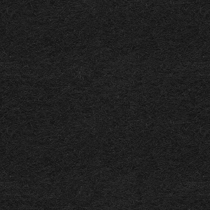 Próbka koloru filcu dekoracyjnego EcoFelt w kolorze czarnym AF-31