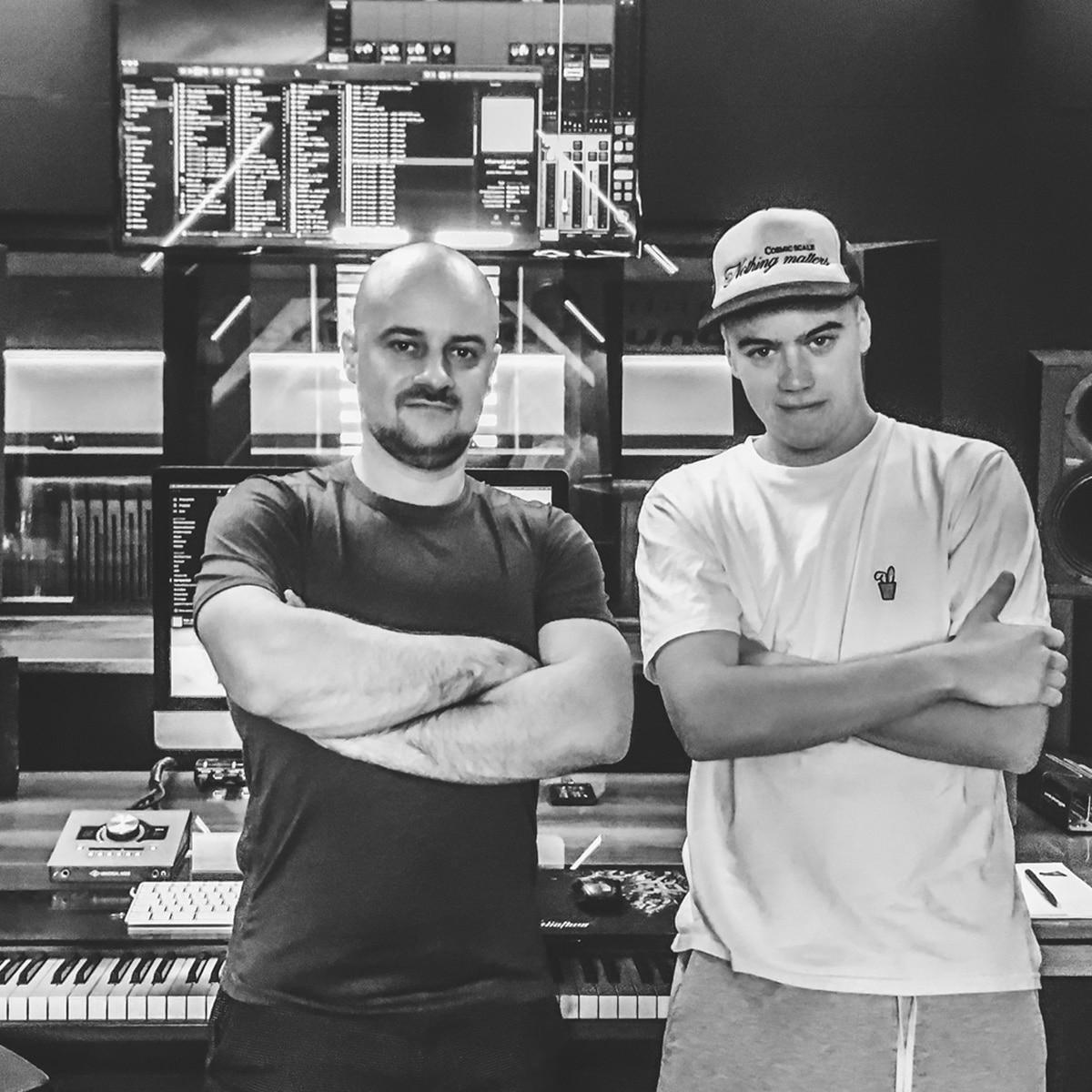 Nowciax w studio nagraniowym Architected Sound