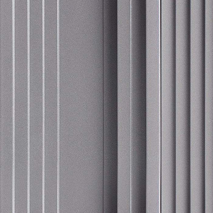 Próbka koloru RAL panelu akustycznego OptiDi w kolorze srebrnym
