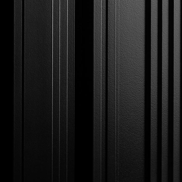 Próbka koloru RAL panelu akustycznego OptiDi w kolorze czarnym