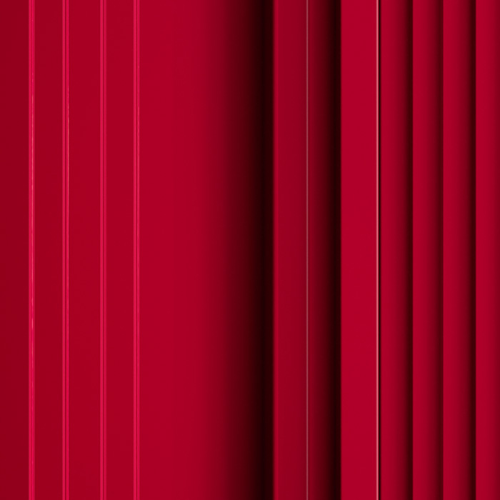 Próbka koloru RAL panelu akustycznego OptiDi w kolorze czerwonym