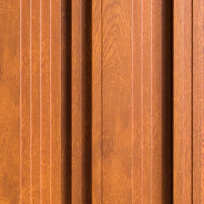 Lakier drewnopodobny ustroju i panelu akustycznego OptiDi w kolorze mahoń
